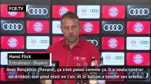 """Bayern - Flick : """"J'espère que ce n'est pas grave pour Pavard"""""""