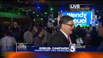 Supporters of Wendy Greuel Watch the Results Come in at `The Exchange Los Angeles`