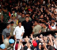 Indonesia president declares poll win as rival does too, complaining of fraud