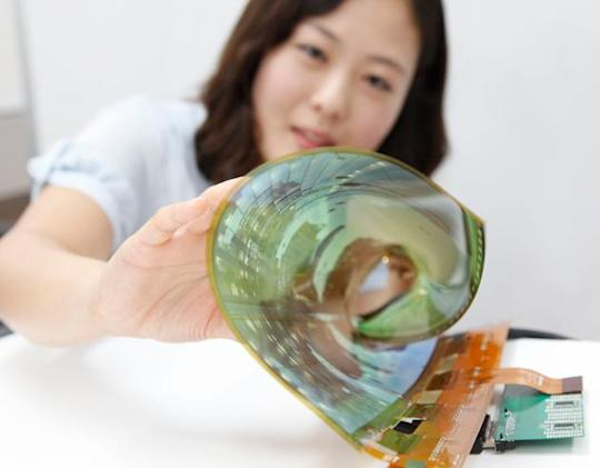 LG has a very flexible 18-inch display, promises 60-inch rollable TVs