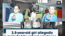 3.5-year-old girl allegedly molested by school employee