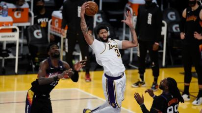 NBA roundup: Anthony Davis drops 42 in Lakers win