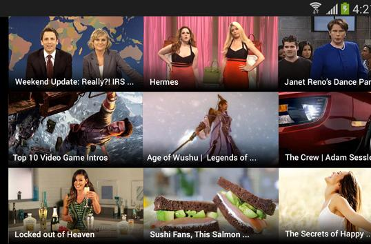 Yahoo Screen gives you yet another way to watch comedy clips on Android