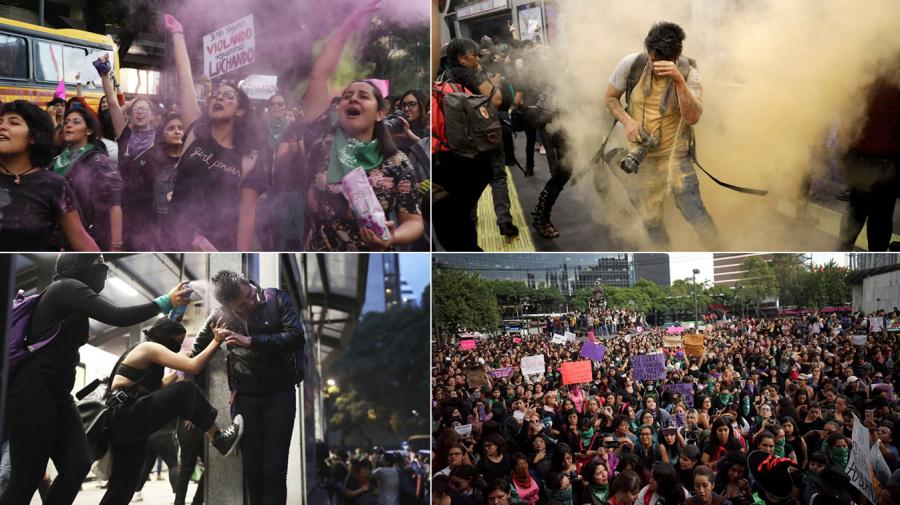 CDMX | Protestas e ira por ataques a mujeres | FOTOS