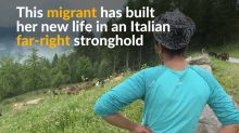 Ethiopian migrant builds new life in far-right Italian hills