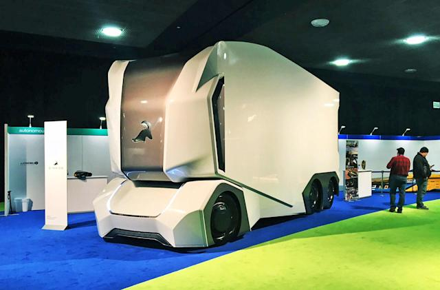 Einride's self-driving cargo trucks hit the highway this fall