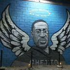 New mural in Houston honors George Floyd