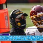 Washington Tight End Wonders AboutRon Rivera's Faith in QB Dwayne Haskins