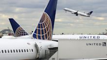 United Airlines shares rise after 30 percent profit jump and rosier outlook despite higher fuel bill