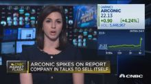 Arconic spikes on report company in talks to sell itself