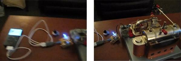 Steam powered USB charger keeps your iPod alive with Victorian sensibility