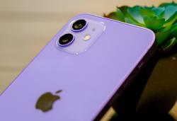 Ogling Apple's purple iPhone 12