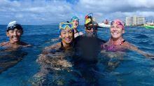 從日本游到夏威夷 驚現滿海塑膠垃圾