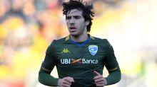 Tonali completes initial loan move to Milan