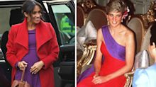 Meghan Markle channelled Princess Diana with her latest outfit