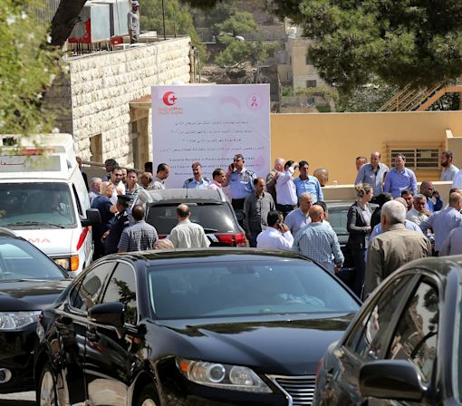 Jordanian writer gunned down outside courthouse