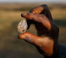 Thousands of people flocked to a South African village digging for diamonds, only to find out they were quartz