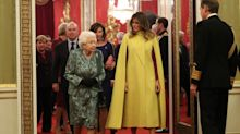 Watch: Here's what was really said during the Queen's exchange with Princess Anne during Trump visit