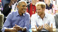 El príncipe Harry y su invitado de lujo: Barack Obama