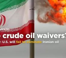 Iran says ready for U.S. waivers end, as Revolutionary Guards threaten to shut Hormuz
