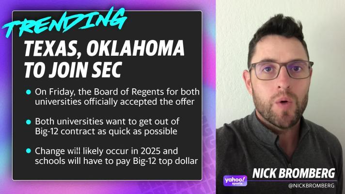 Texas, Oklahoma to join SEC