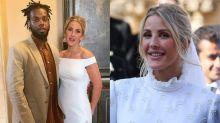 Ellie Goulding's off-the-shoulder second wedding dress unveiled on Instagram
