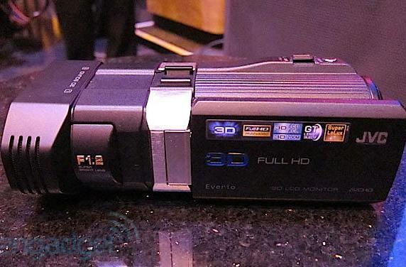 JVC announces the GS-TD1 full HD 3D consumer camcorder, we go hands on