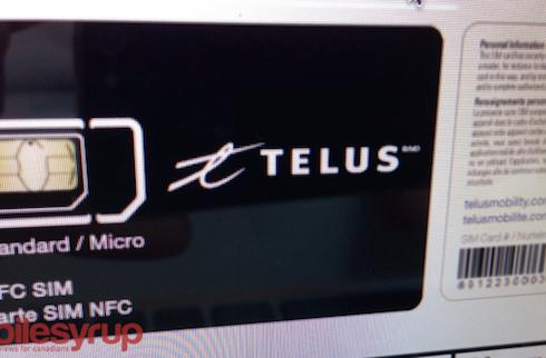 Leak hints Telus will offer NFC-enabled SIMs on October 10th