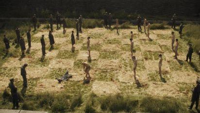 Amazon drama 'Hunters' criticised over Auschwitz scene