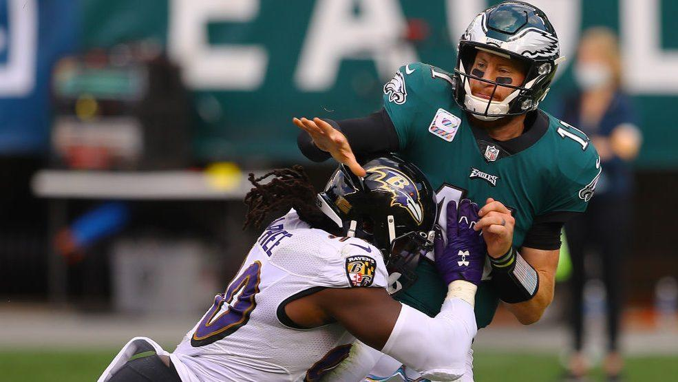Ravens hold on for 30-28 win in Philly