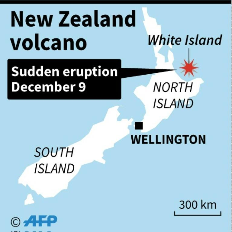 Volcano erupts off New Zealand coast, 20 injured
