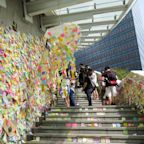 'Lennon Walls' herald a sticky-note revolution in Hong Kong