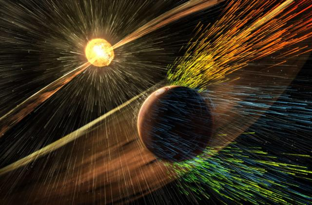 NASA proposes guarding Mars' atmosphere with a magnetic shield