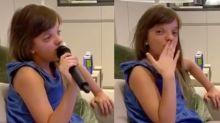Rafa Justus canta 'Garota de Ipanema' e emociona a avó