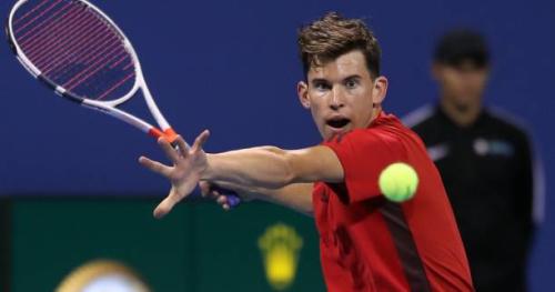 Tennis - ATP - Doha - Doha : Dominic Thiem trace sa route jusqu'en quart de finale