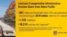 Louisiana Transportation Infrastructure Receives $87 million Boost from Union Pacific