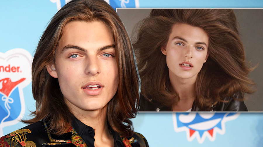 Liz Hurley's son wows in modelling debut