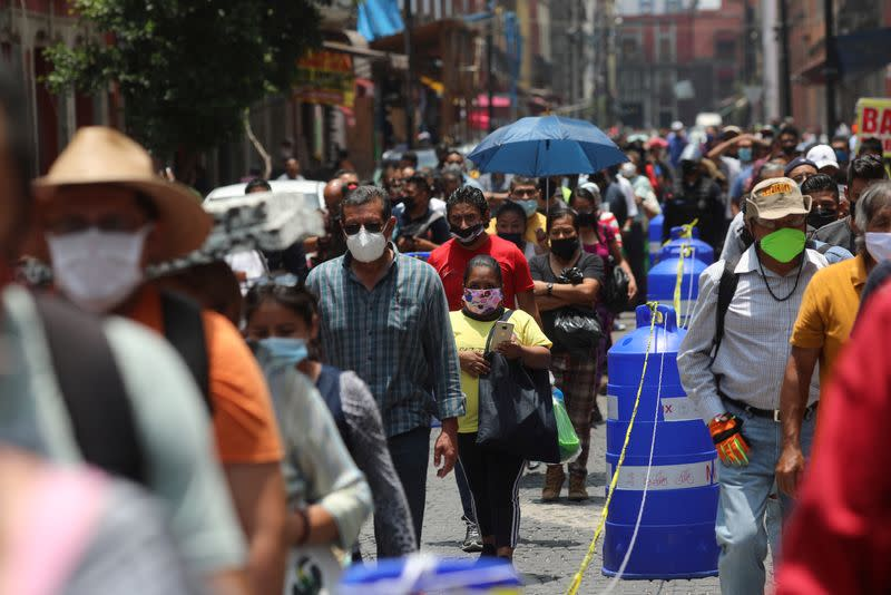 Mexico surpasses Italy to post world's fourth-highest coronavirus death toll