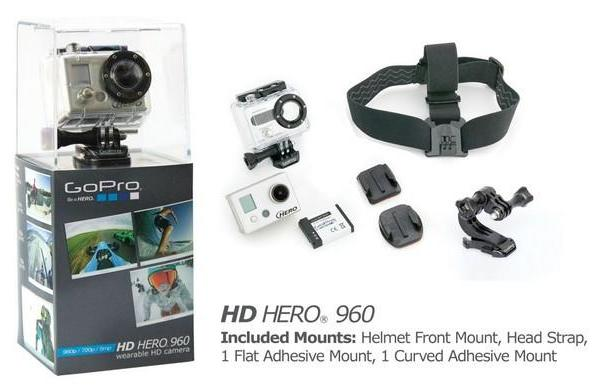 GoPro releases its budget-friendlier $179 HD Hero 960, teases 3D case for moneybags