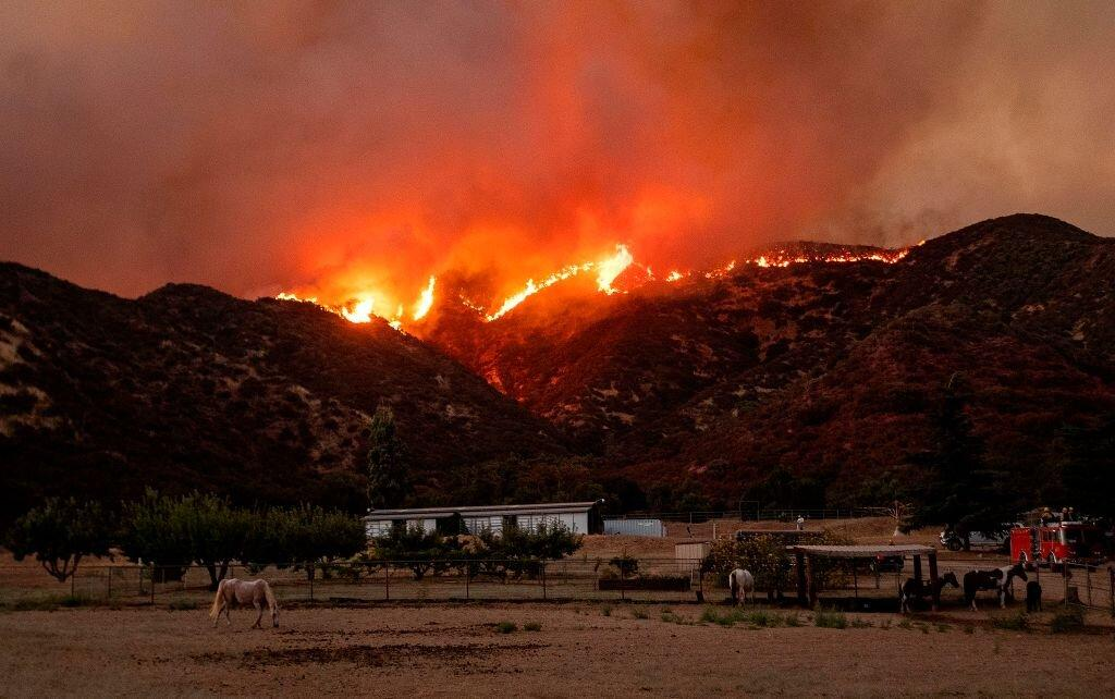 About 7,800 People Ordered to Evacuate Due to Southern California Wildfire