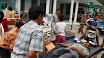 Raw: Deadly Quake in Indonesia's Aceh Province