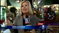 Flower shop collects non-perishable food items