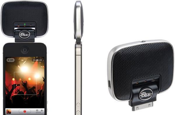 Blue Microphones Mikey Digital portable microphone for iOS devices hits shelves, offers mobile tracking for $100
