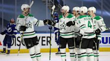 Stars strike early in Stanley Cup Final, take Game 1 over Lightning