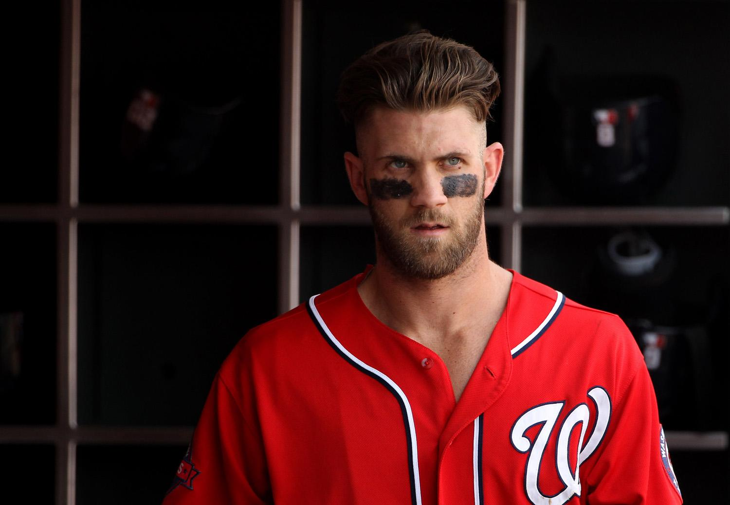 The latest stats facts news and notes on Bryce Harper of the Washington