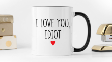These snarky mugs speak the truth about your relationship — and make the best Valentine's Day gift