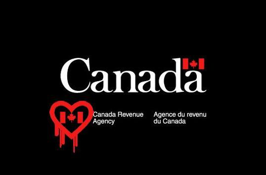 Crooks use Heartbleed exploit to steal 900 Canadian tax IDs
