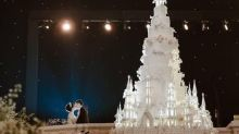 See the most OTT wedding cake that ever existed