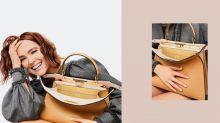 Zoey Deutch 為一個手袋演出拍攝全球廣告短片及硬照企劃