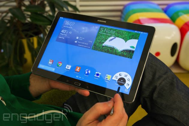 Samsung Galaxy Note Pro 12.2 review: a tablet that proves bigger isn't always better